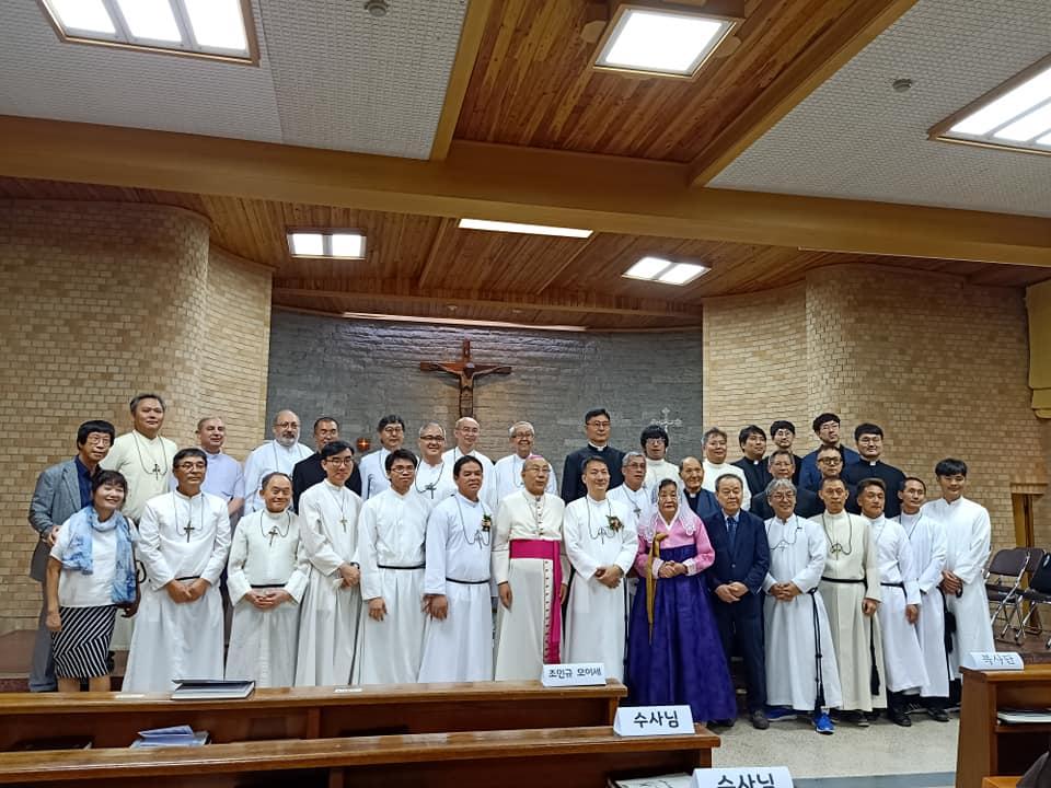 Final Vows of Br. Moses Cho, Korea