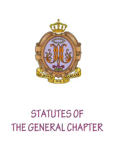 Statutes of the General Chapter